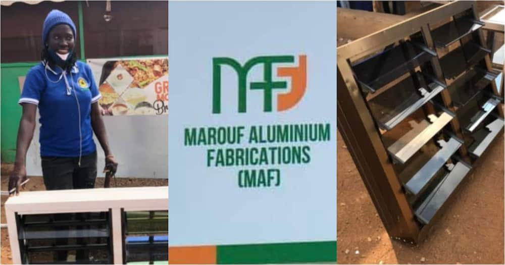 Boss lady: Meet Iddrisu Kande the CEO of Marouf Aluminium Fabrications