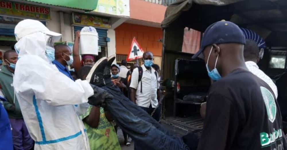 Donholm Man Collapses, Dies Instantly Outside Wines and Spirits Store