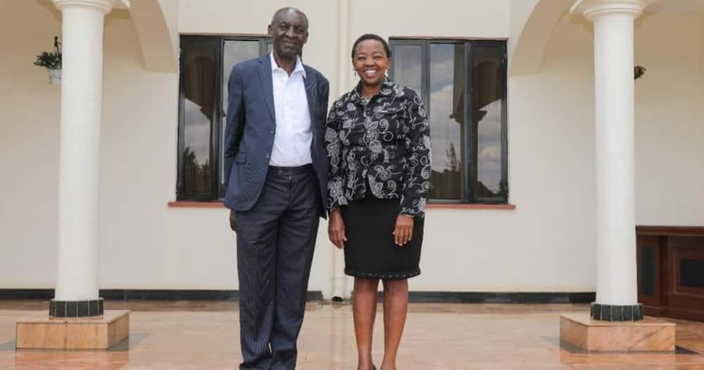 Rachel Ruto introduces her primary school headteacher, describes him as a change agent
