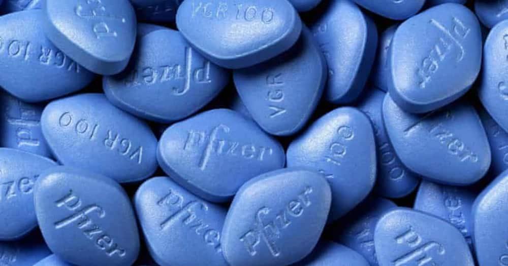 Viagra sex enhancement pills. Photo: Pfizer.