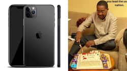 Mwangi wa Iria gifted KSh 130k iPhone by daughter during his birthday