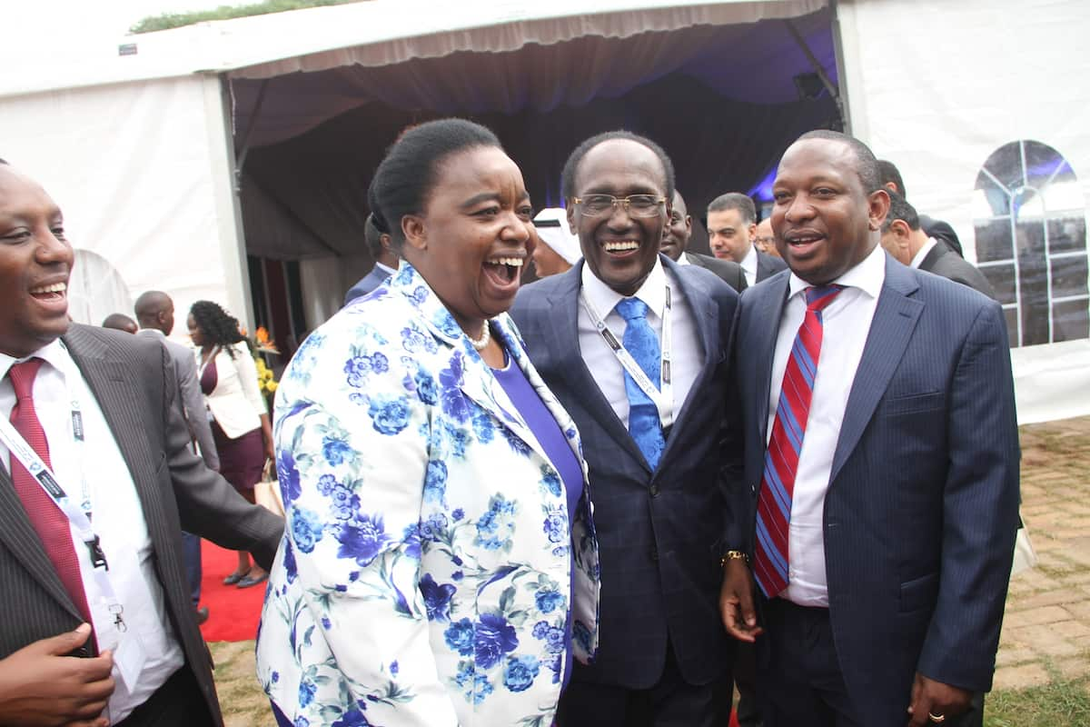Recovering billionaire businessman Chris Kirubi makes another rare public appearance