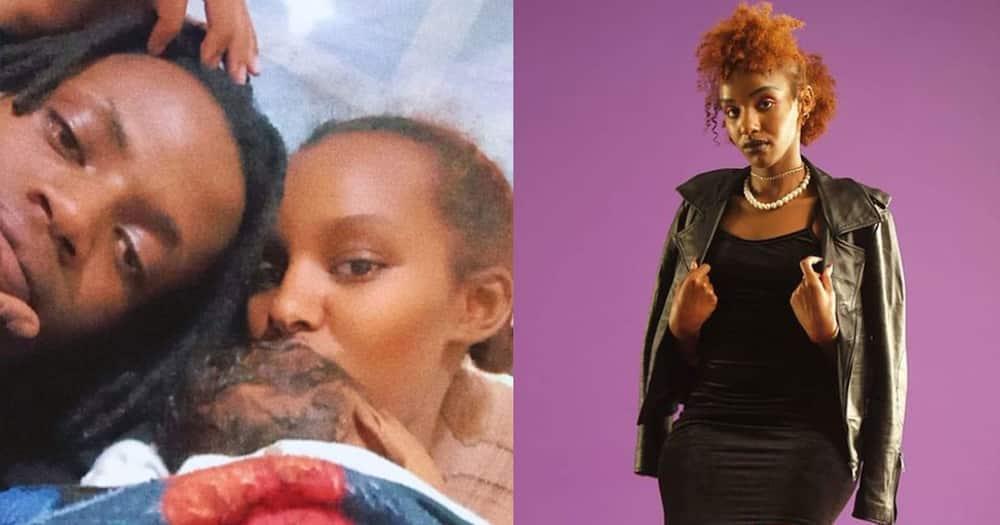 Mungai Mbaya's girlfriend Aisha.