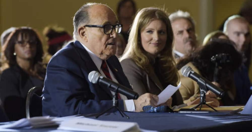 COVID-19: Blow to Donald Trump as top lawyer in election petition Rudy Giuliani is hospitalised