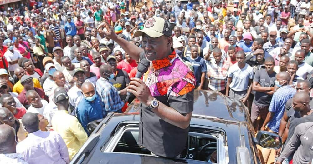 I Supported Uhuru Kenyatta When Many People Never Wanted to Support Him, Ruto