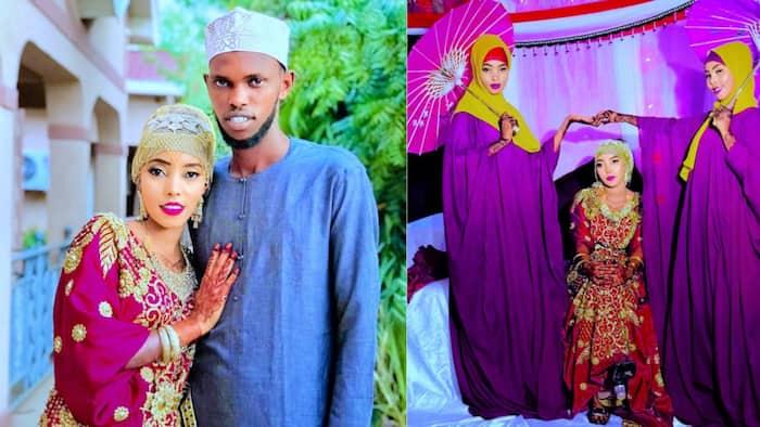 Mandera: Celebrity Lovebirds Walk Down the Aisle in Beautiful Islamic Wedding