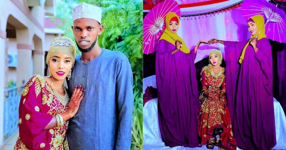 Mandera Couple Walk Down the Aisle in Beautiful Muslim Wedding Ceremony