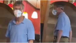 Bill Gates Disguising? Man Wearing Face Mask Has People Wondering if He's the Microsoft Founder