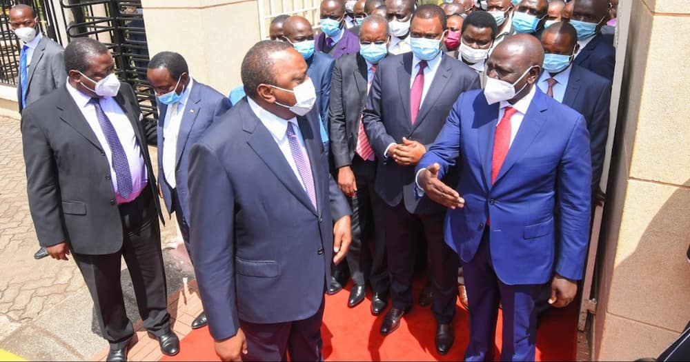 Uhuru reportedly hinted at supporting a NASA candidate in 2022.
