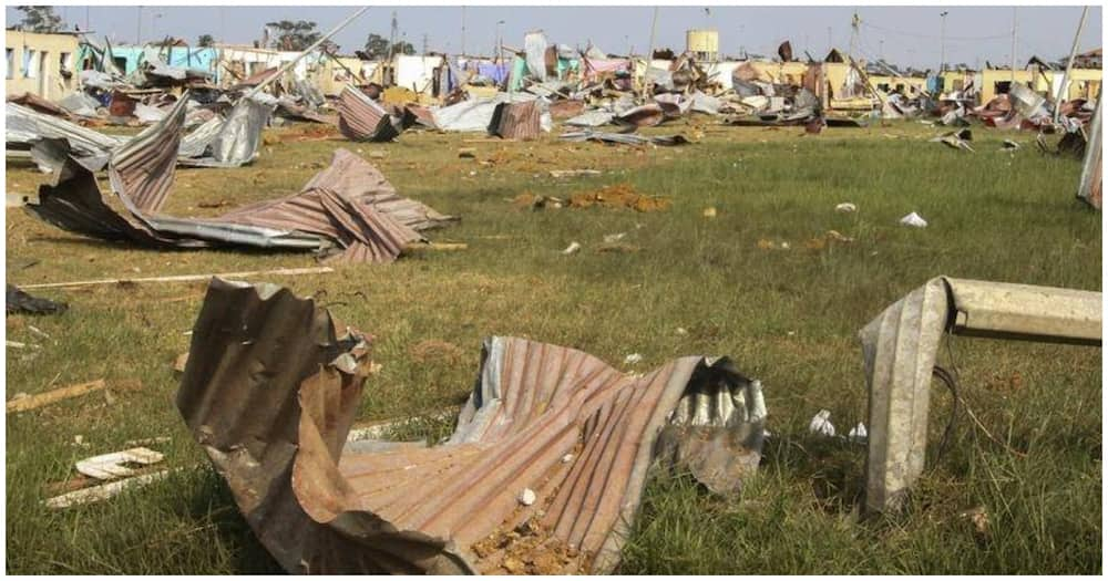President Teodoro Nguema linked the disaster to negligence in handling dynamite. Photo: Aljazeera.