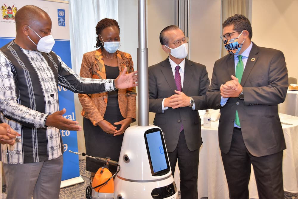 CS Kagwe unleashes robots to bolster fight against COVID-19