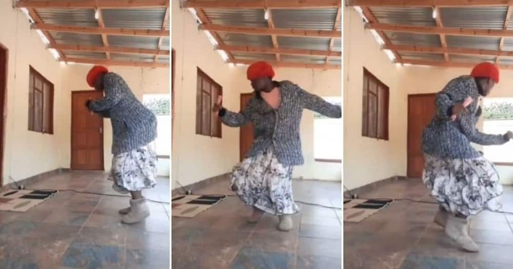 """Video shows gogo busting a move, Mzansi in awe: """"Yoh this granny"""""""