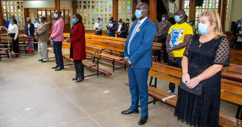 Family of late Kibra MP Ken Okoth hold memorial service one year after his death