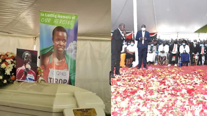 Agnes Tirop: Emotional Moment in Mosoriot as Celebrated Olympian is Laid to Rest