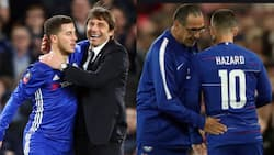 Eden Hazard admits less pleasure playing under Conte and Sarri at Chelsea
