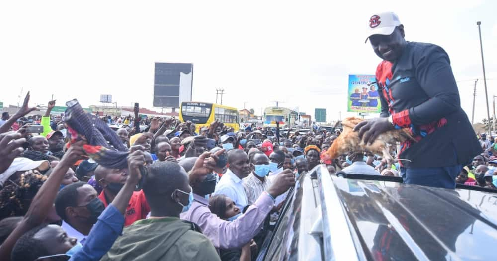 William Ruto ended his two-day consultation with Ukambani leaders in Kajiado.