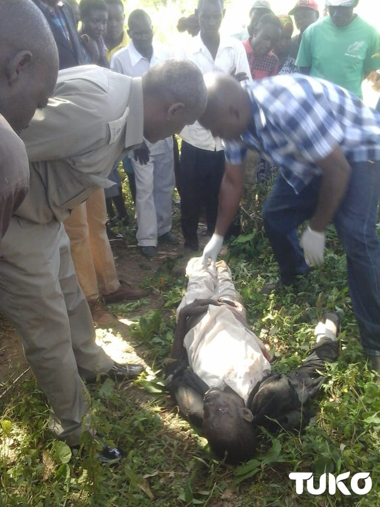 Decomposing body Bungoma man killed, private parts chopped off