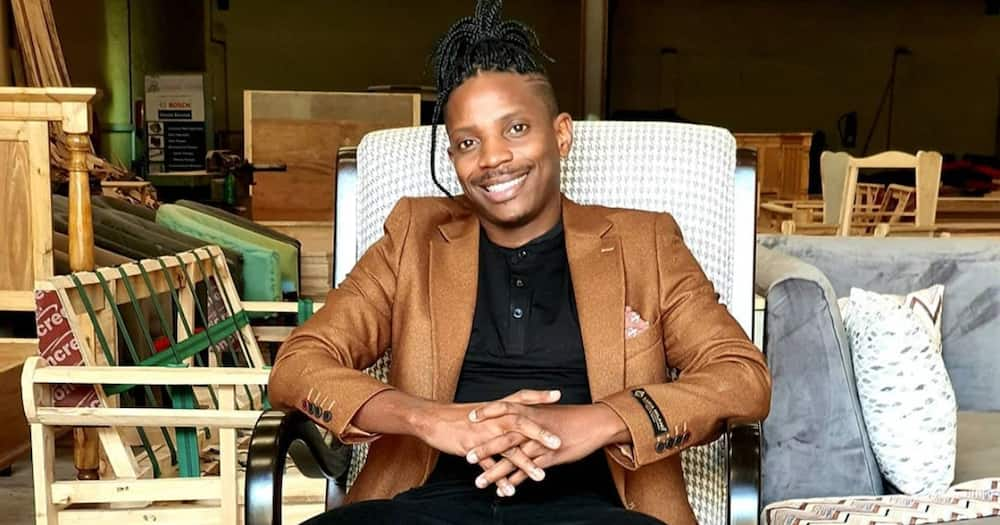 Comedian Eric Omondi launches studios with legendary artists names