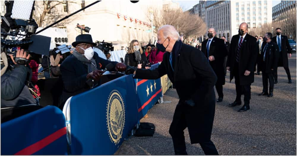 Al Roker: Luckiest journalist shook Biden's hand during Obama's inauguration, gets fistbump from new president