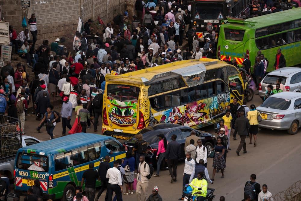 Nairobi matatu routes