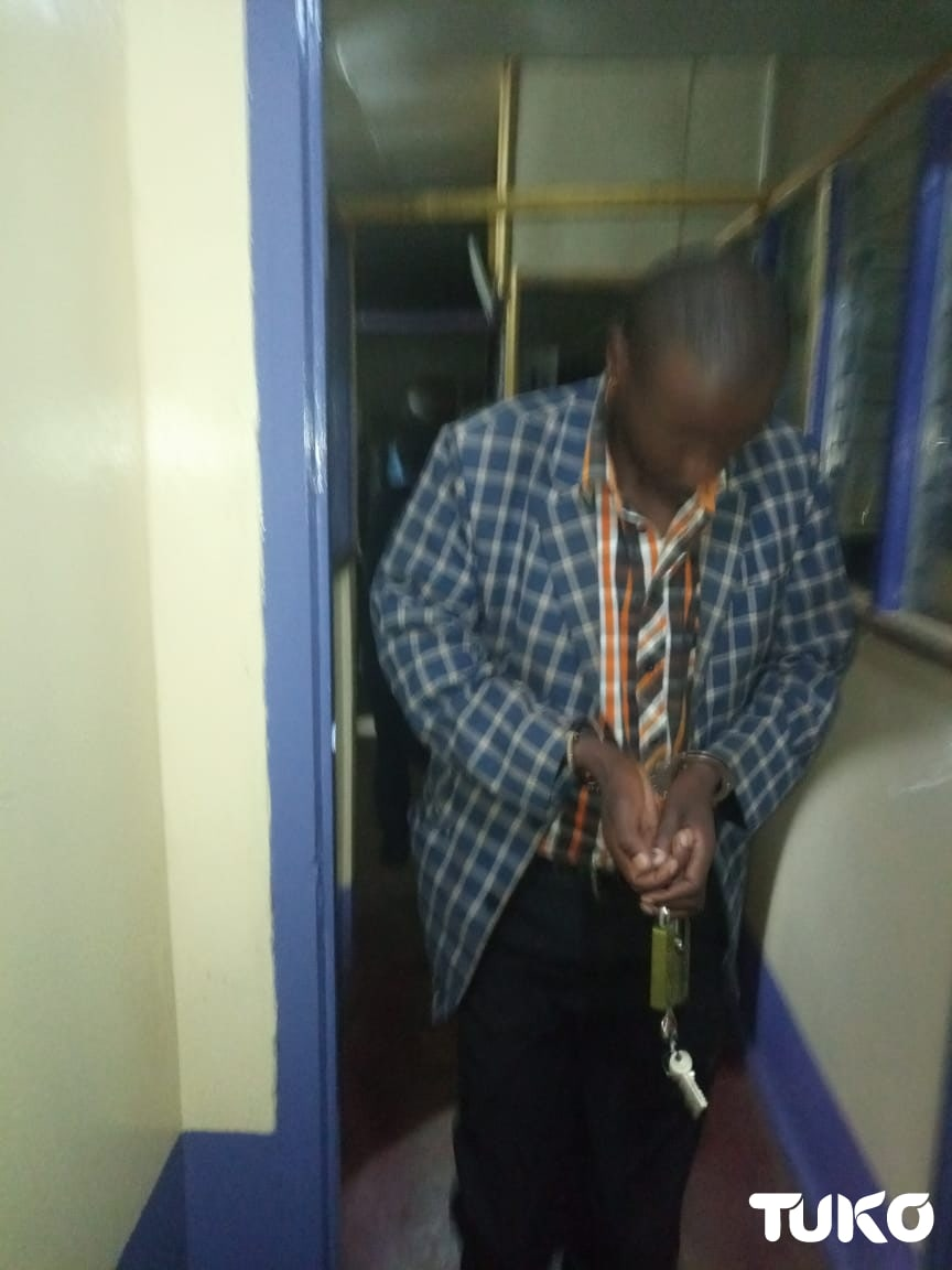 Teachers Service Commission employee caught inside office in the dead of night