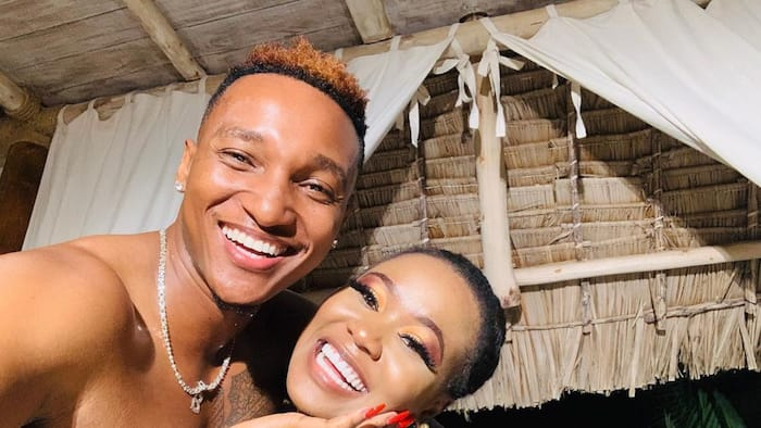 Brown Mauzo Pampers Vera with Love as He Serenades Her with Song Otile Wrote for Her