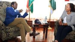 Kalonzo Musyoka Courts Waiguru In Day-long Meeting at Governor's Residence