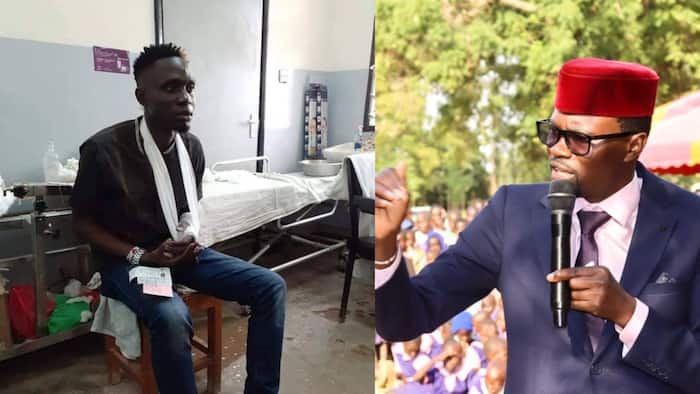 Didmus Barasa Under Fire from Kenyans for Slapping Luhya Musician