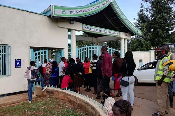 Kakamega county bars patients without identity cards access to hospital