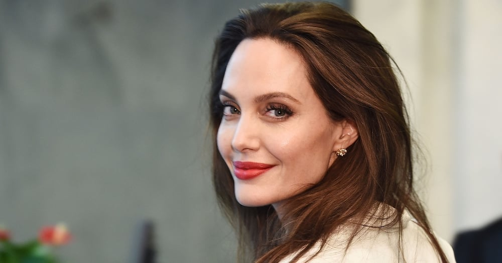 Angelina Jolie was seen with The Weeknd after a dinner date. Photo: Getty Images.