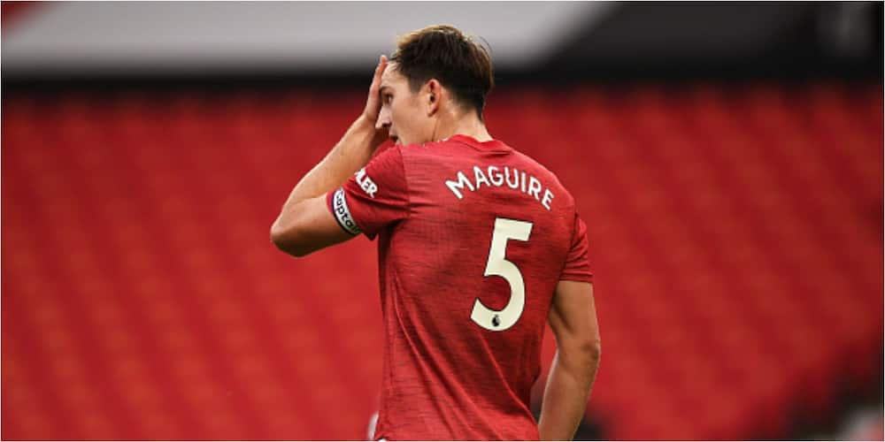 Harry Maguire out of United's EPL clash with Newcastle due to injury