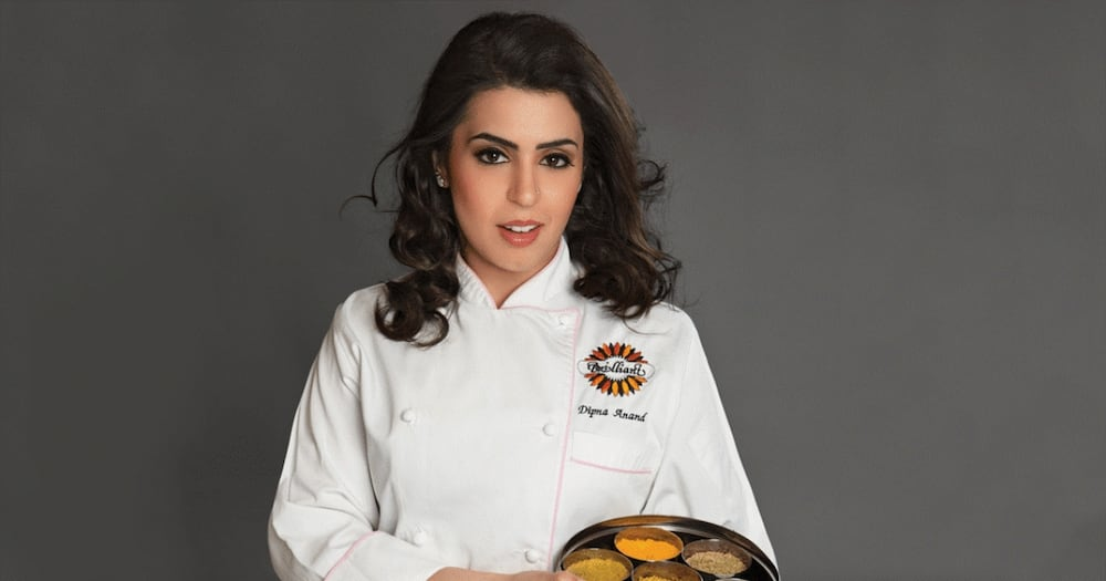 Dipna Anand is a Kenyan-born celebrity chef. Photo: Dipna Anand.