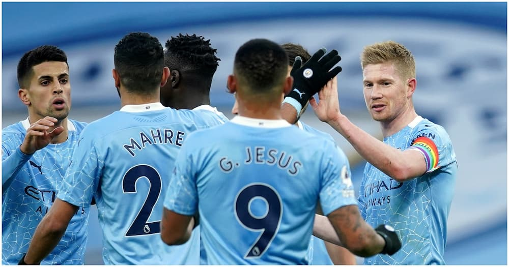 Manchester City vs Fulham: Sterling, De Bruyne fire Citizens to 2-0 win over Cottagers