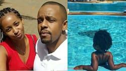 Zora Actress Sarah Hassan Enjoys Magical Time in Mombasa with All Grown Son