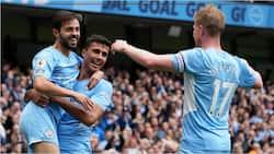 Bernardo Silva, De Bruyne Score as Impressive Manchester City Defeat Burnley