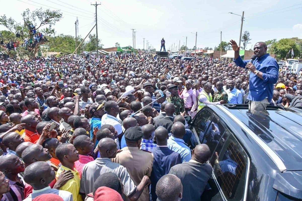 Ruto tells Nyanza politicians Raila's handshake effect is unstoppable