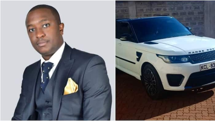 Steve Mbogo's Range Rover found bearing a Probox number plate impounded by police