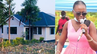 """Akothee Pens Congratulatory Message to YY Comedian After Building House For His Mom: """"Other Men Just Drive Big Cars"""""""