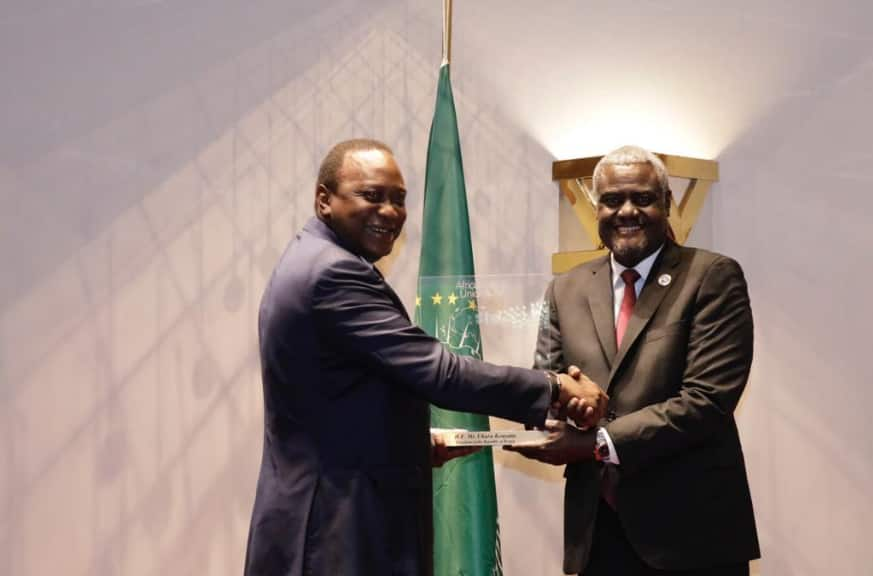 AU awards Uhuru for role in hosting historic blue economy concurrence