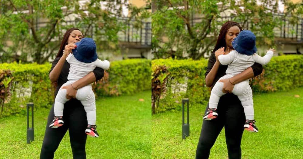 "Juliana Kanyomozi Celebrates Son Taj's First Birthday: ""You Filled Our Hearts with Joy"""