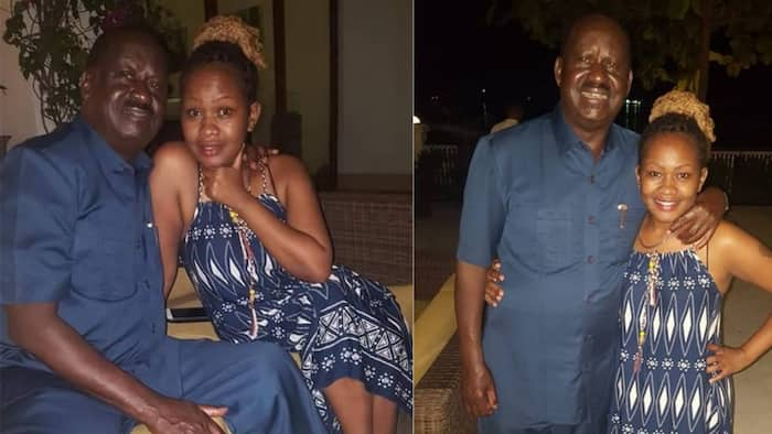 Sashona Mbote Seraphine Asks Kenyans to Move on From Her Photos with Raila