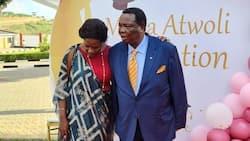 Picha za Francis Atwoli na Mary Kilobi Zinazothibitisha Mapenzi ya Dhati Yapo