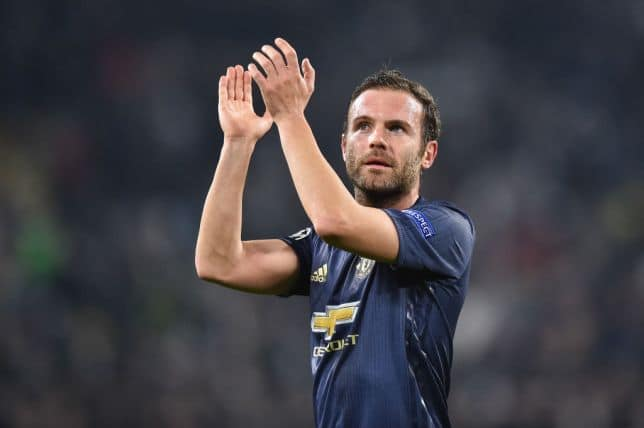 Man United star Juan Mata honoured by Queen Sofia in Spain