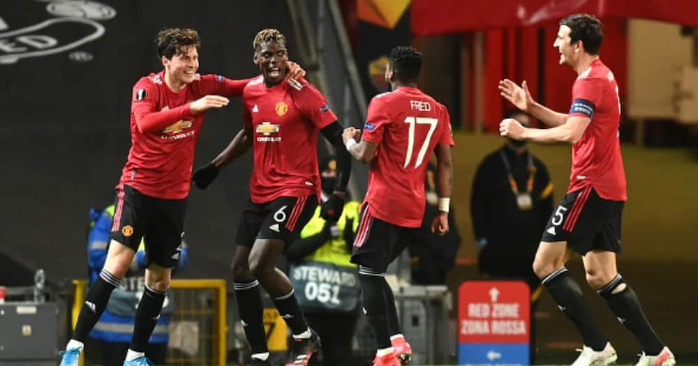 Bruno Fernandes, Cavani Shine as Man United Demolish Roma 6-2 in Europa League Semi