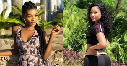 Tanzanian model blasts Diamond's baby mama Hamisa Mobetto for stealing her man