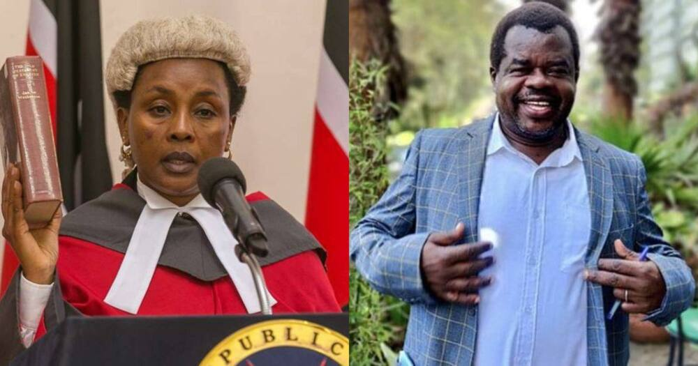 Acting CJ Philomena Mwilu Decries Harassment, Frustration From Activist Okiya Omtatah