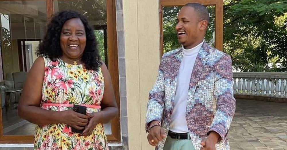 Babu Owino Thanks Ida Odinga for Teaching Him How to Love Jesus, Be Great Dad