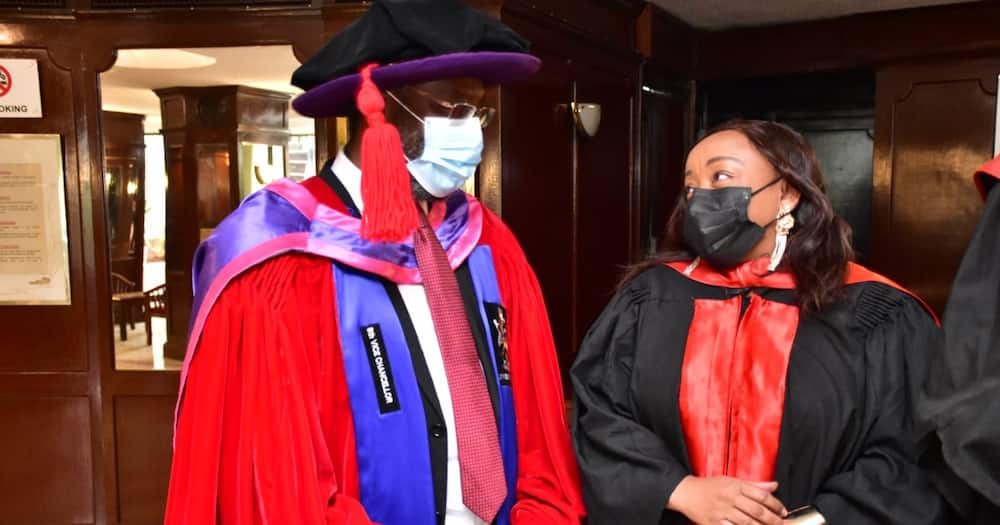 UoN Vice-Chancellor Stephen Kiama. Photo: University of Nairobi.