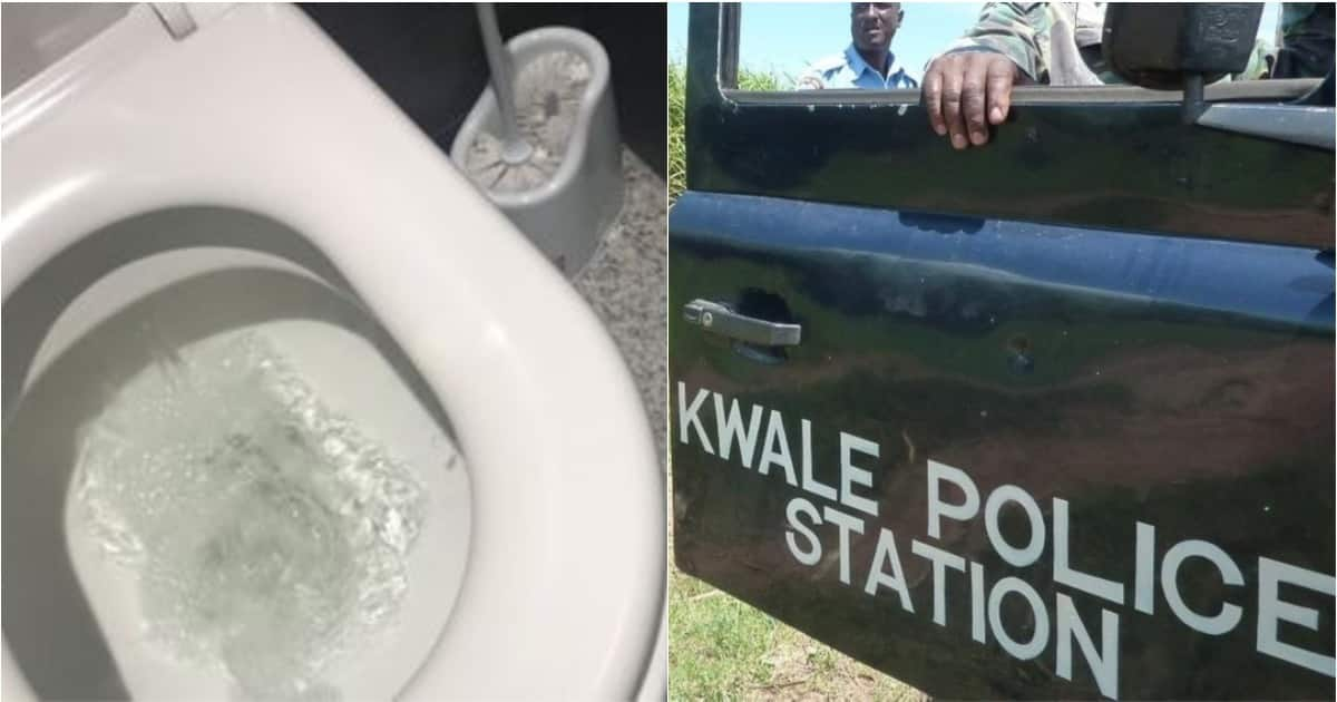 Kwale police officer who lost pistol in toilet suspended from duty