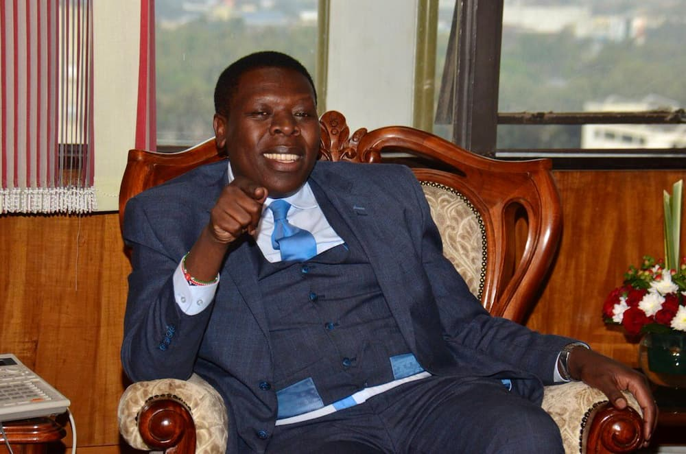 CS Matiang'i, IG Mutyambai forced to land in Eldoret enroute to West Pokot, cite bad weather